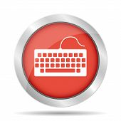 stock photo of qwerty  - keyboard icon - JPG