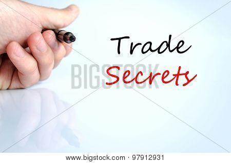 Trade Secrets Text Concept
