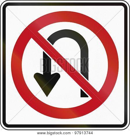 No U-turn In Canada