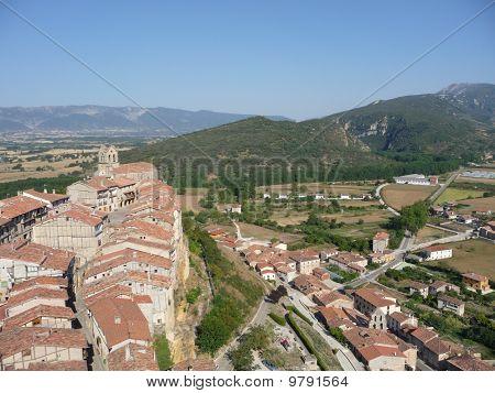 View of Frias, Burgos, Spain