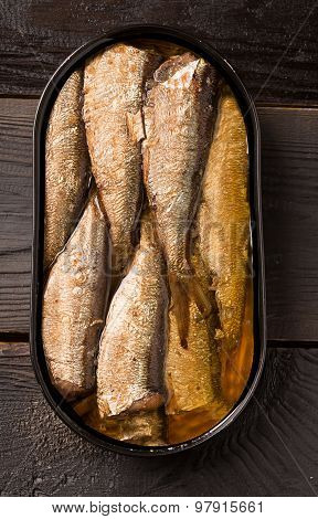 Sprats With Oil