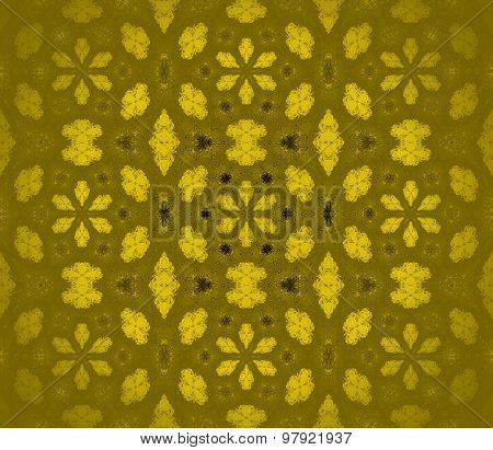 Seamless pattern golden blurred