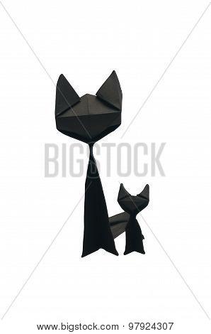Black Paper Cat .
