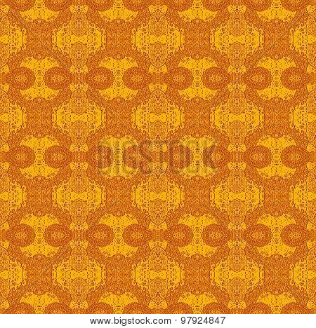 Seamless pattern coppery