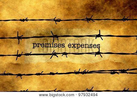 Premises Expenses Against Barbwire