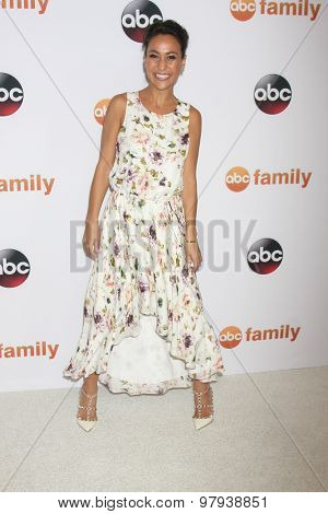 , LOS ANGELES - AUG 4:  Victoria Scott at the ABC TCA Summer Press Tour 2015 Party at the Beverly Hilton Hotel on August 4, 2015 in Beverly Hills, CA