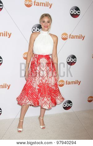 LOS ANGELES - AUG 4:  AJ Michalka at the ABC TCA Summer Press Tour 2015 Party at the Beverly Hilton Hotel on August 4, 2015 in Beverly Hills, CA