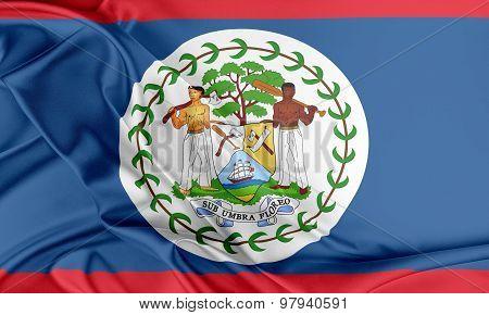 Belize Flag.