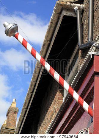 Medieval Barber's Pole