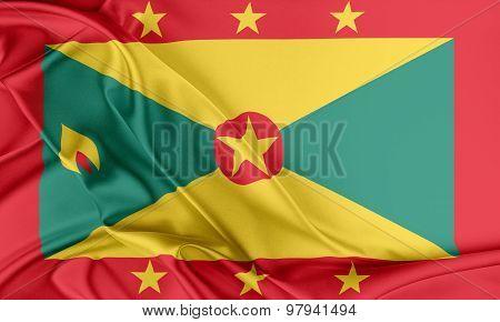 Grenada Flag.