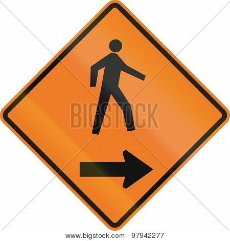 Pedestrians On The Right In Canada