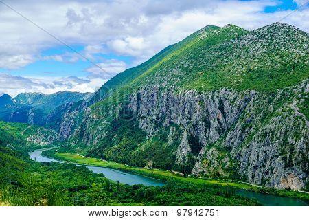 Cetina River, Croatia