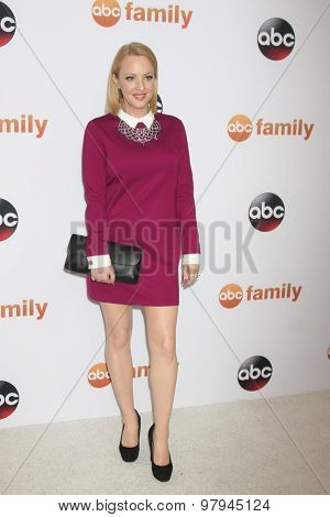LOS ANGELES - AUG 4:  Wendi McLendon-Covey at the ABC TCA Summer Press Tour 2015 Party at the Beverly Hilton Hotel on August 4, 2015 in Beverly Hills, CA