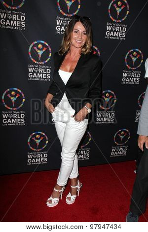 LOS ANGELES - JUL 31:  Nadia Comaneci at the Special Olympics Inaugural Dance Challenge at the Wallis Annenberg Center For The Performing Arts on July 31, 2015 in Beverly Hills, CA