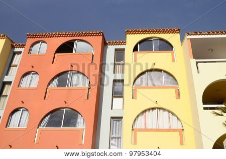 Buildings In Port Leucate
