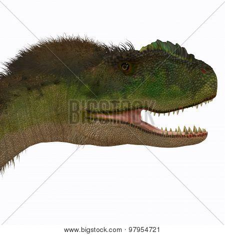 Rugops Dinosaur Head