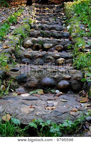 Stone Stairs Up