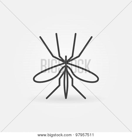 Mosquito icon or logo