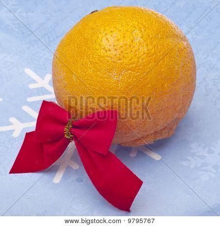 Holiday Orange Gift