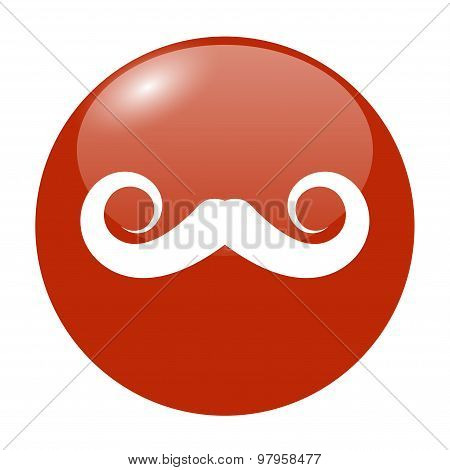 Mustaches Vector Icon