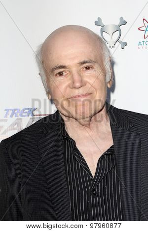 LOS ANGELES, CA - AUGUST 1: Walter Koenig arrives at the premiere of Star Trek: Renegades at the Crest Theatre on August 1, 2015 in Los Angeles, CA.