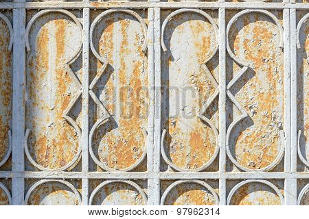 Metallic Portal Detail