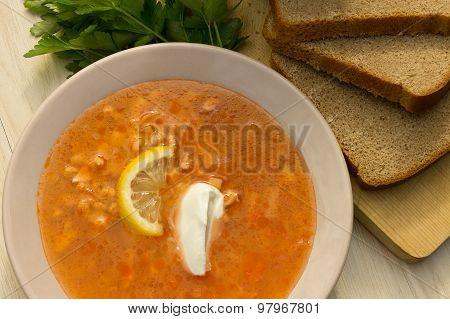 Solyanka, Russian cuisine