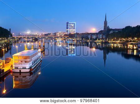 River Weser Bremen Germany