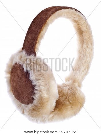 Fuzzy Winter Ear-muffs