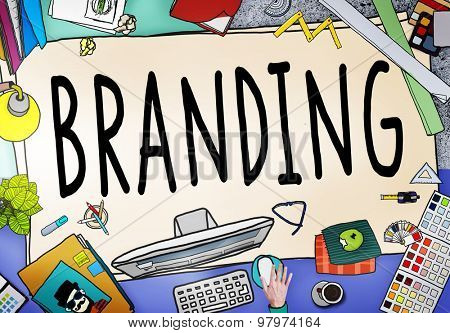 Branding Brand Marketing Business Strategy Identity Concept