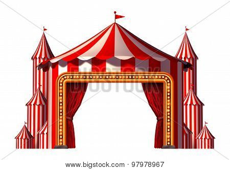 Circus Blank Space Stage