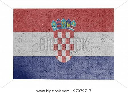 Large Jigsaw Puzzle Of 1000 Pieces - Croatia