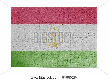 Large Jigsaw Puzzle Of 1000 Pieces- Tajikistan