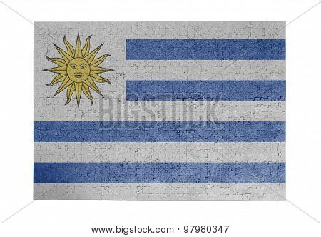 Large Jigsaw Puzzle Of 1000 Pieces - Uruguay