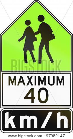 Maximum 40 Kmh In Canada