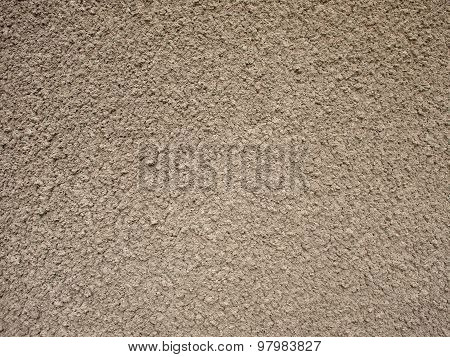 Granular Surface Of The Cement Beige
