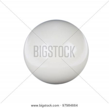 shiny ball for billiard