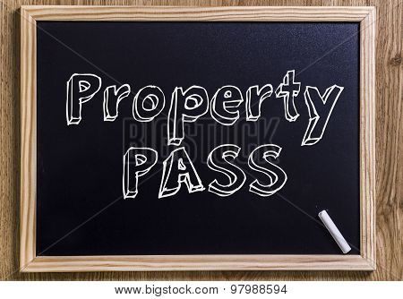 Property Pass