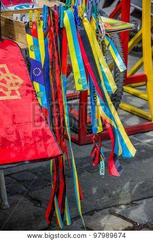 Ukrainian Flag, Trident Symbols Sale