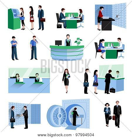 Bank People Set
