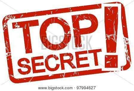 Red Stamp Top Secret!
