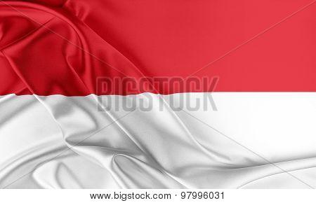 Indonesia Flag.