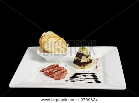 Duck Meat with Baguette