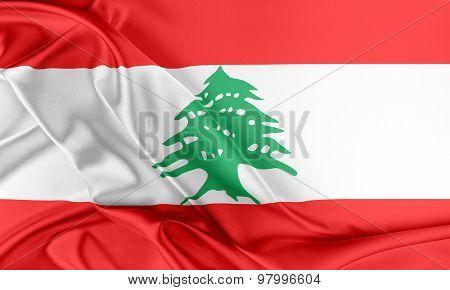 Lebanon Flag.