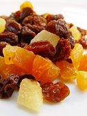 pic of dry fruit  - dried mixed fruits a healthy snack - JPG