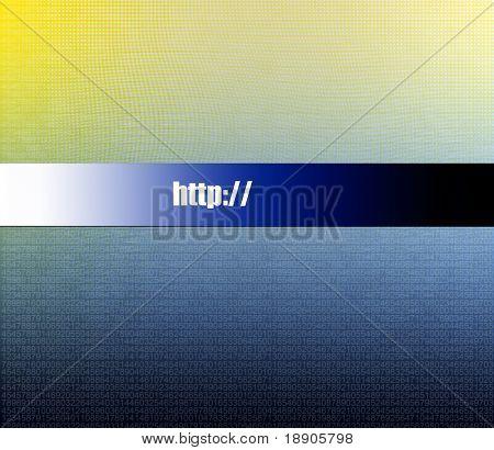 Abstraktion Technology Unternehmens-Webseite