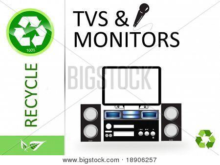 Recicle-tv e monitores