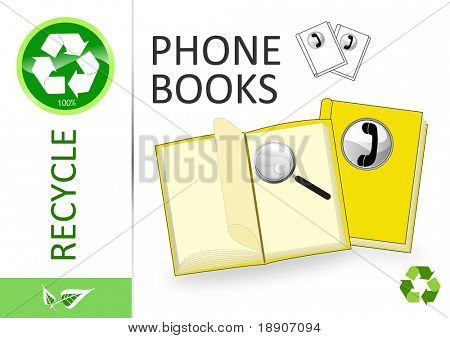 Please recycle phone books