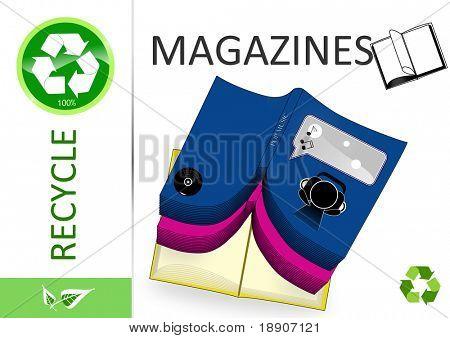 Please recycle magazines