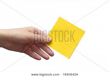 Holding post memo